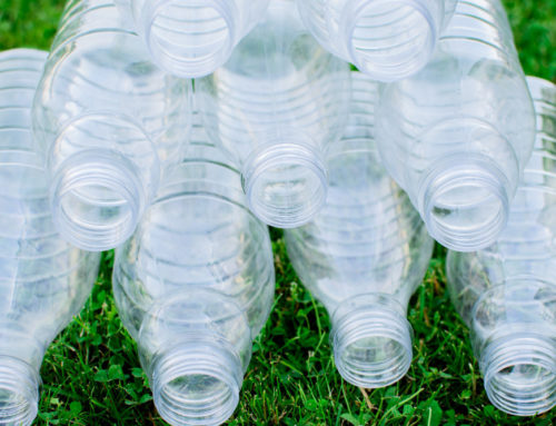 THINK BEFORE YOU DRINK. SAY NO TO PLASTIC BOTTLES.